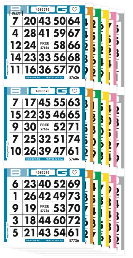 Champion Bingo Paper
