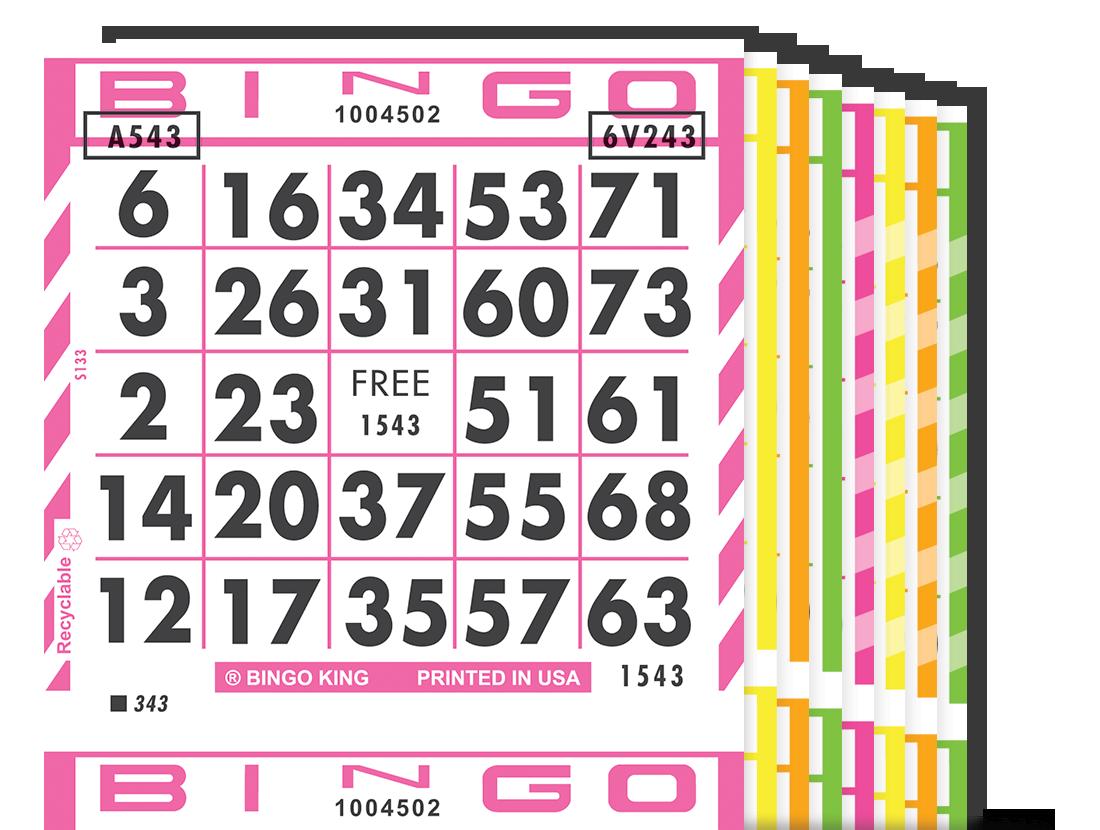 Champion Fluorescent Bingo Paper