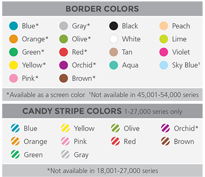 Champion Border Colors