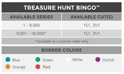 Treasure  Hunt  Bingo